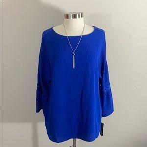 XL Alyx Royal Blue Top